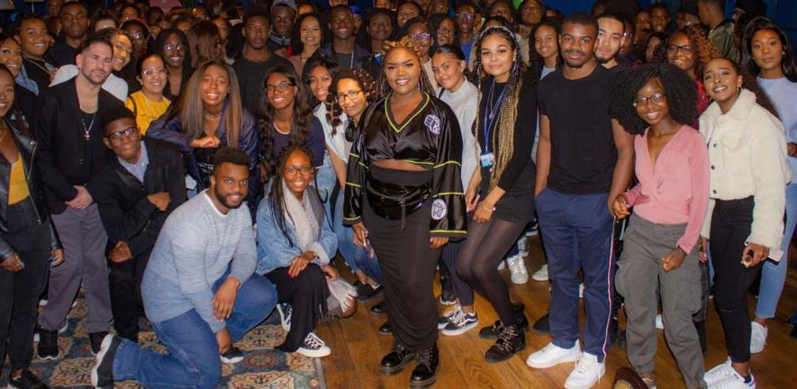Black students at Cambridge